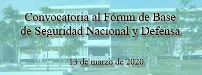 Fórum de base de Seguridad Nacional y Defensa