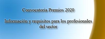 Convocatoria Premios 2020